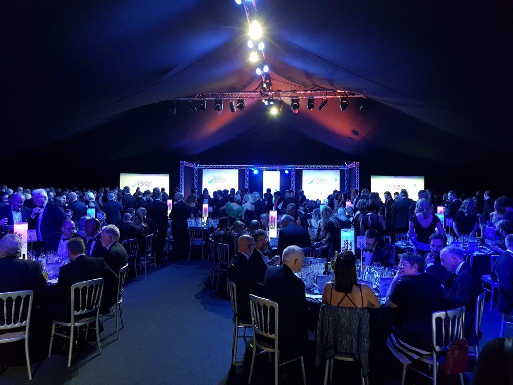 Norfolk Business awards at Norfolk Showground Arena