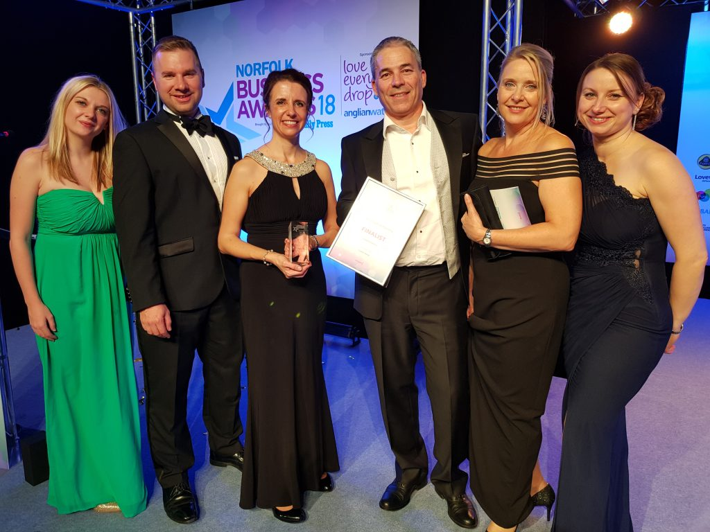 Norfolk Business Awards 2018 Small Business Finalists